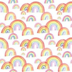 Watercolour Rainbows