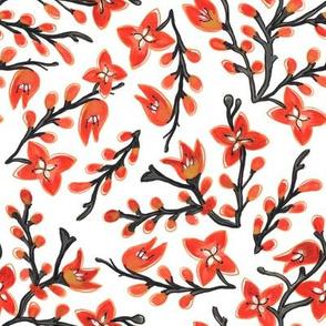 Montbretia Floral Design