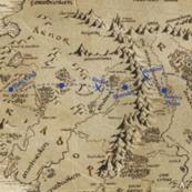 The Hobbit: Bilbo's Journey in Blue