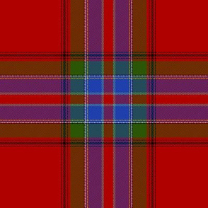 "MacRae of Ardentoul tartan, 6"""