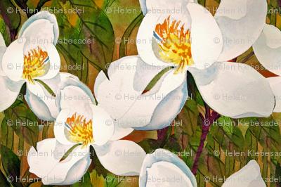 Small spring magnolias