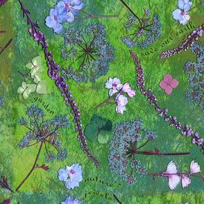 boho earth garden