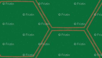 Rustic Honeycomb M+M Zucchini by Friztin
