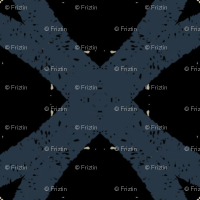 Mosaic M+M Navy Black by Friztin