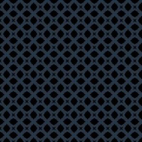 Mosaic M+M Navy Black by Friztin