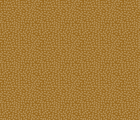 leaf rust fabric by katherine_quinn on Spoonflower - custom fabric