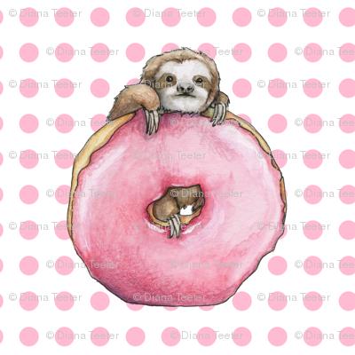 Doughnut Sloth