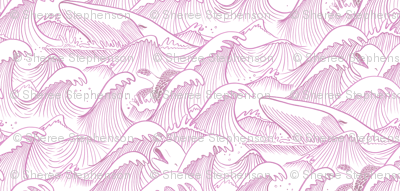 Turbulent Oceans Pink