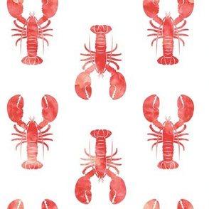 red lobster fabric