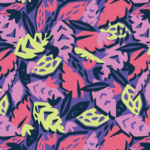 Cut Paper Tropic (Cool Colorway)