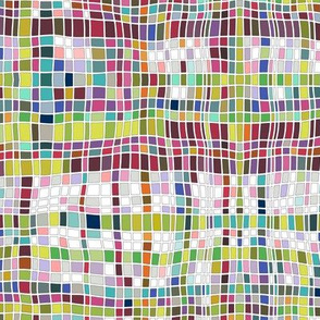 weave mosaic bright large