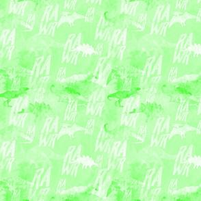 Dino RAWR Green