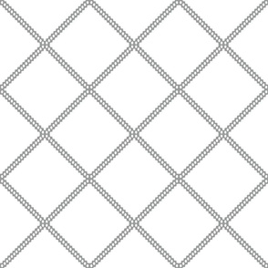 Gray diamond lattice grey diamond ogee