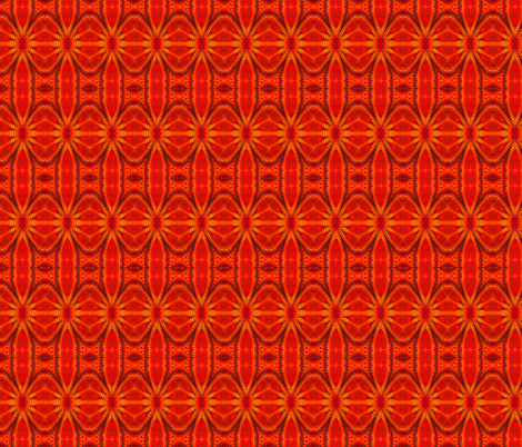 Radiant Red Ripples fabric by just_meewowy_design on Spoonflower - custom fabric