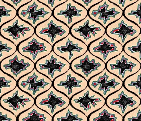 Geode Ogee fabric by willowbirdstudio on Spoonflower - custom fabric