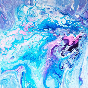 Pastel Swirly Pour