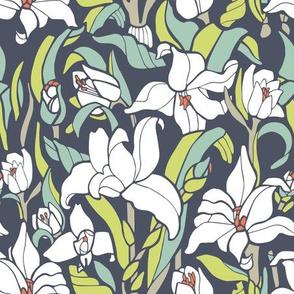 Monja Blanca Orchid