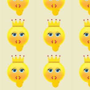 Crown King Emoji Design