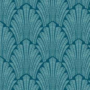 Art deco  teal