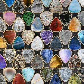 Rockin' Rocks - Geology Guitar picks large