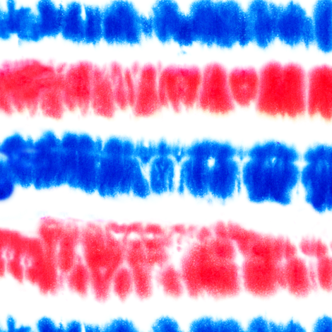 red white and blue tie dye  fabric by littlearrowdesign on Spoonflower - custom fabric