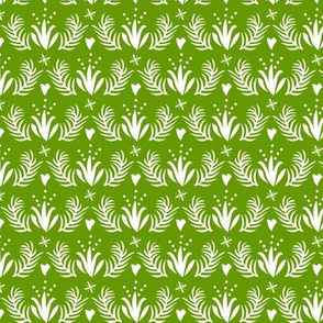 Otomi floral_lime