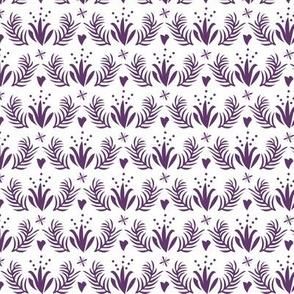 Otomi floral_whitepurple