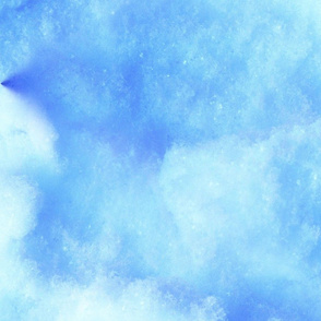Blue Snow Cone