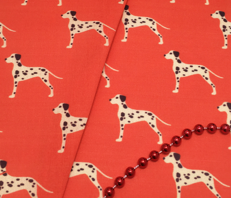 Vintage Matchbox Dalmatians - Red