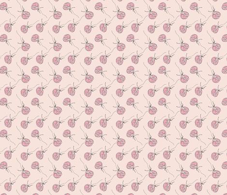 Pink Peonies fabric by honey_and_elsie on Spoonflower - custom fabric