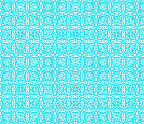 Crazy Lacy Blue Checkers fabric by just_meewowy_design on Spoonflower - custom fabric