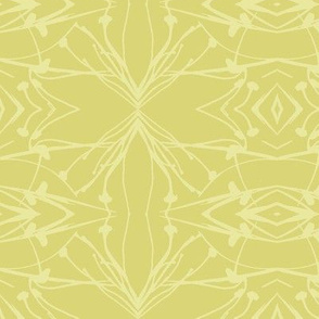 Hawkweed (Yellow on Gold)