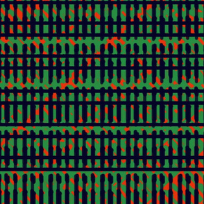 African styllish line pattern