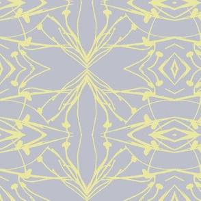 Hawkweed (Yellow on Gray)