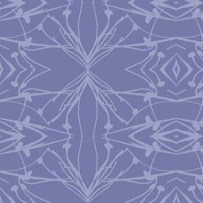 Hawkweed (Violet on Blue-violet)