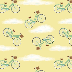 bicycles-and-clouds-pattern