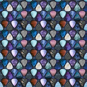 Rockin' Rocks - Galaxy Guitar picks medium