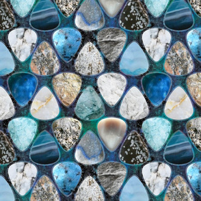 Rockin' Rocks - Icescape Guitar picks large