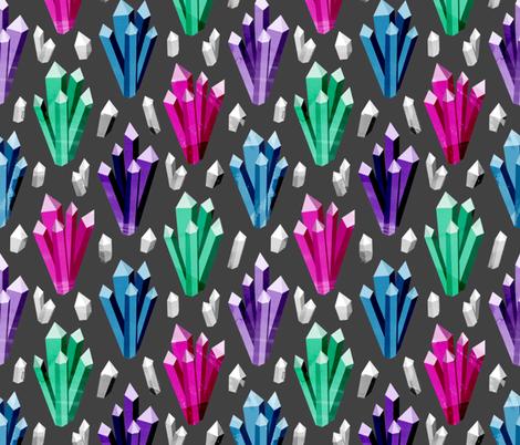 Quartz Garden fabric by robyriker on Spoonflower - custom fabric