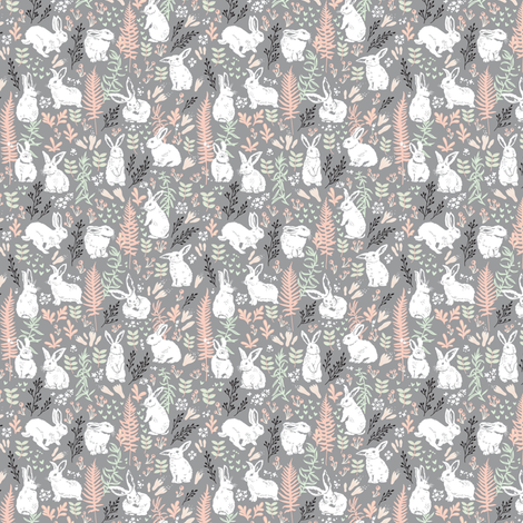 morning tenderness small size fabric by penguinhouse on Spoonflower - custom fabric