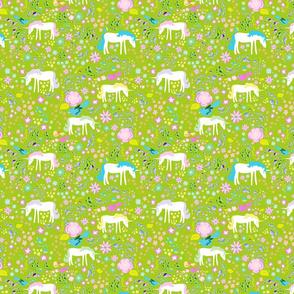 Unicorn Garden Spring Green