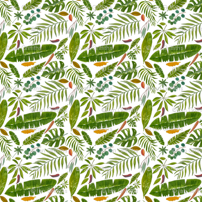 Tropicl Leaves