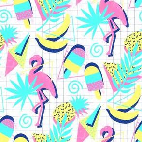 80s Flashback Tropical Fun - small