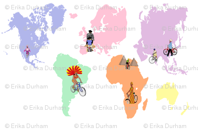 Cycling the World