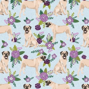 english mastiff pet quilt c floral quilt collection coordinate