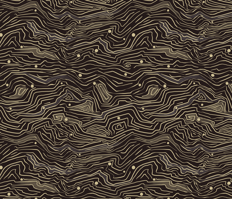 MOUNTAIN_TERRAIN fabric by yasminah_combary on Spoonflower - custom fabric