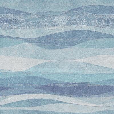 wave-sky blue and sea