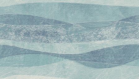 wave-sky blue and sea fabric by wren_leyland on Spoonflower - custom fabric