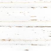 White barn wall