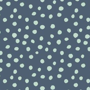 Indy Bloom Design Navy Teal Dot A